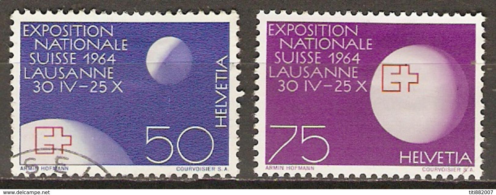 SUISSE      -  1963.   Y&T N° 719 à 720 Oblitérés. - Switzerland