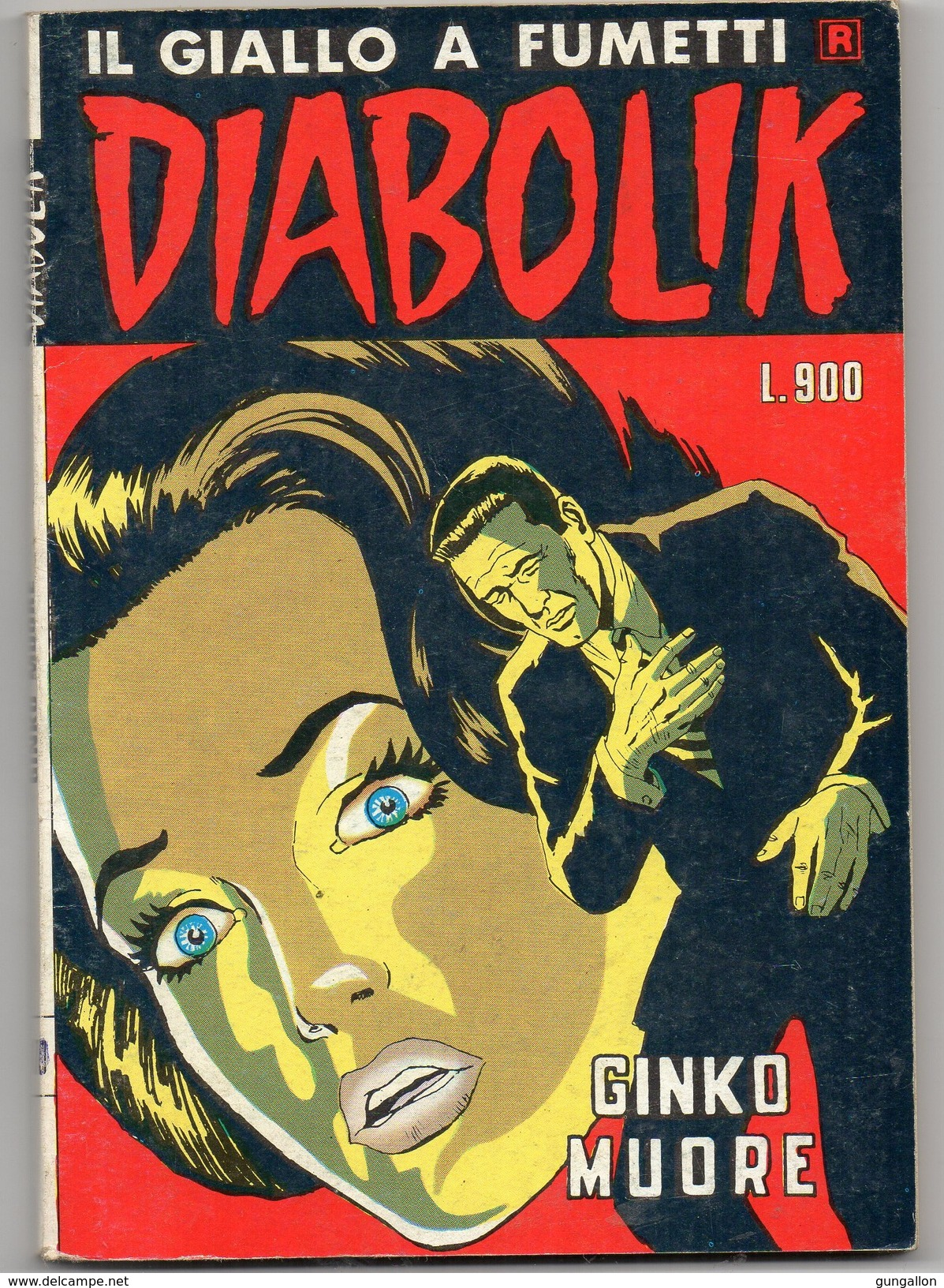 Diabolik R. (Astorina 1985) N. 170 - Diabolik