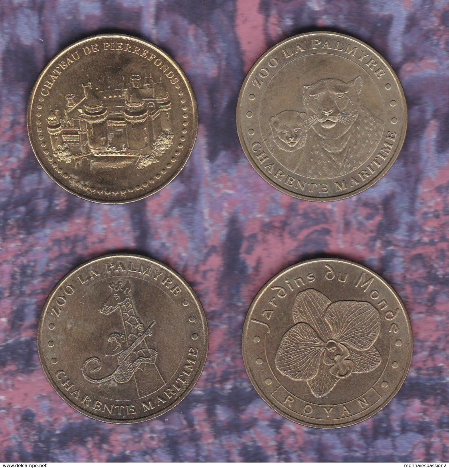 Monnaie De Paris : Lot De 4 Médailles 2003 - 2009 - Monnaie De Paris