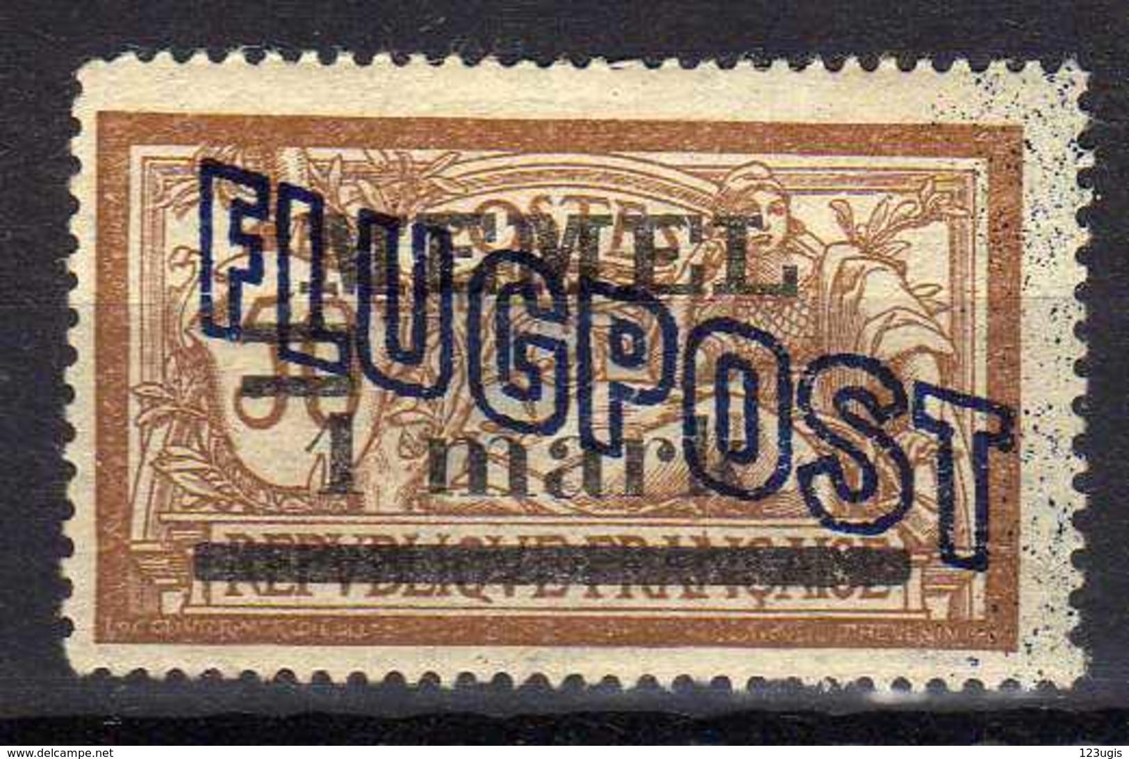 Memel 1921 Mi 43 I  *, Fligpost / Air Mail [280117L] - Memelgebiet