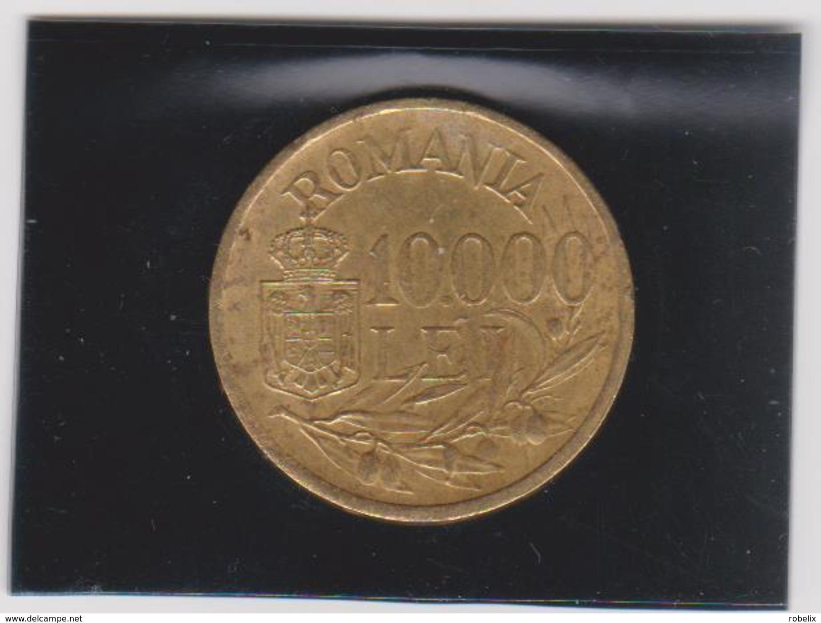ROMANIA  1947 10000 LEI- 2 Scans - Rumänien