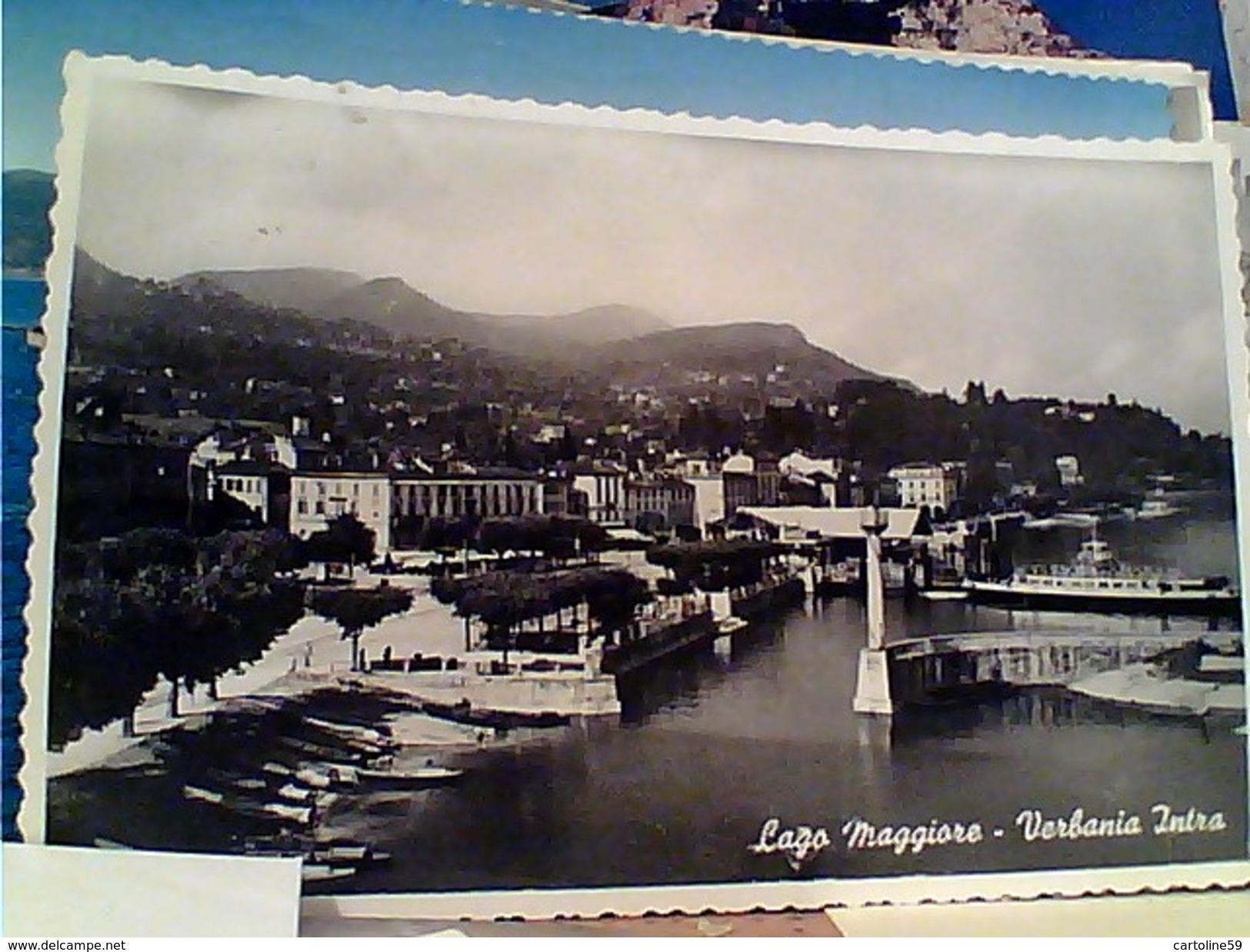 6 CARD  VERBANIA INTRA  LAGO MAGGIORE  E ISOLE MADRE E PESCATORI  VB1956/62  FY11408 - Verbania