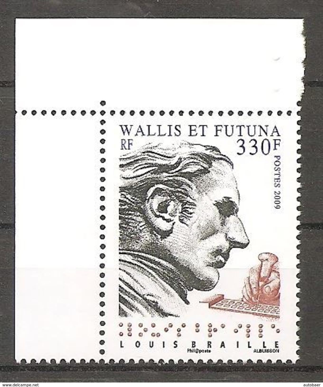Wallis Und Et Futuna 2009 Louis Braille Michel No. 986 MNH Postfrisch Neuf - Ungebraucht