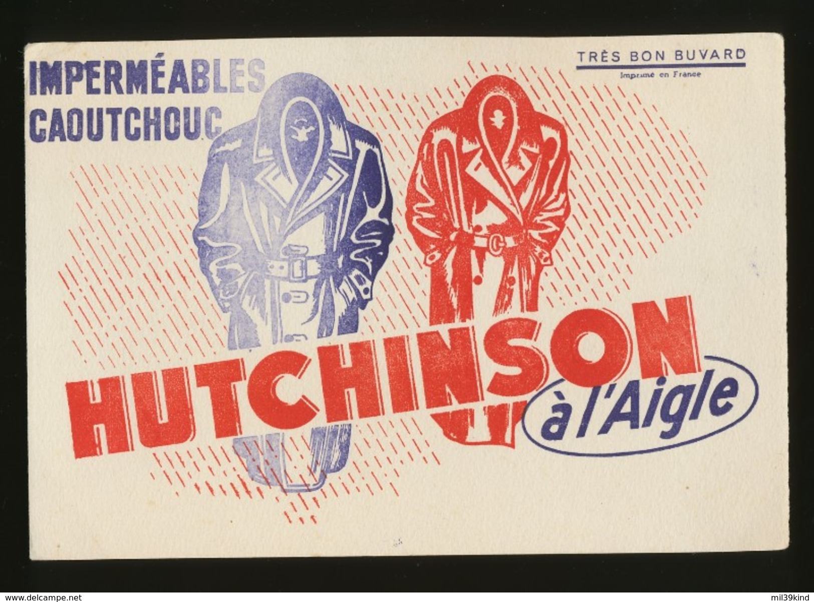 Buvard - HUTCHINSON - à L'aigle - H
