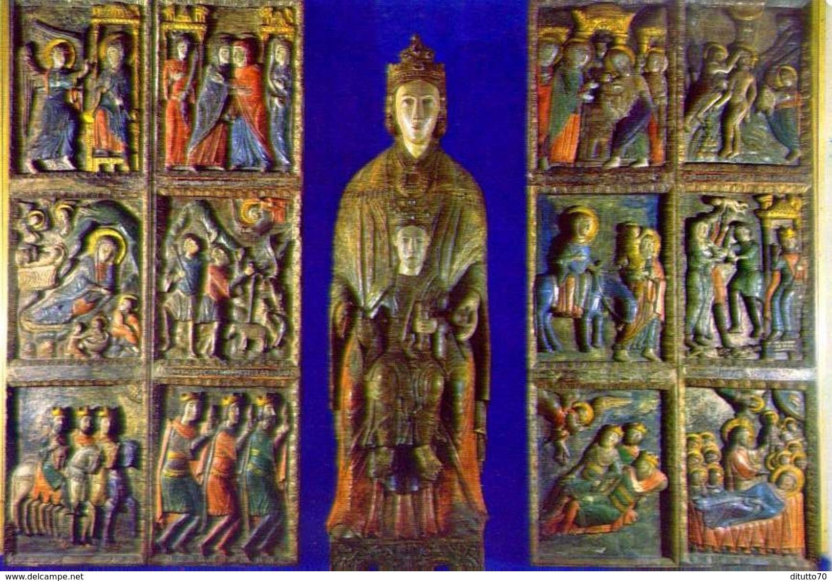 Alatri - Madonna Di Costantinopoli E Pannelli - 68 - Formato Grande Non Viaggiata - E - Frosinone