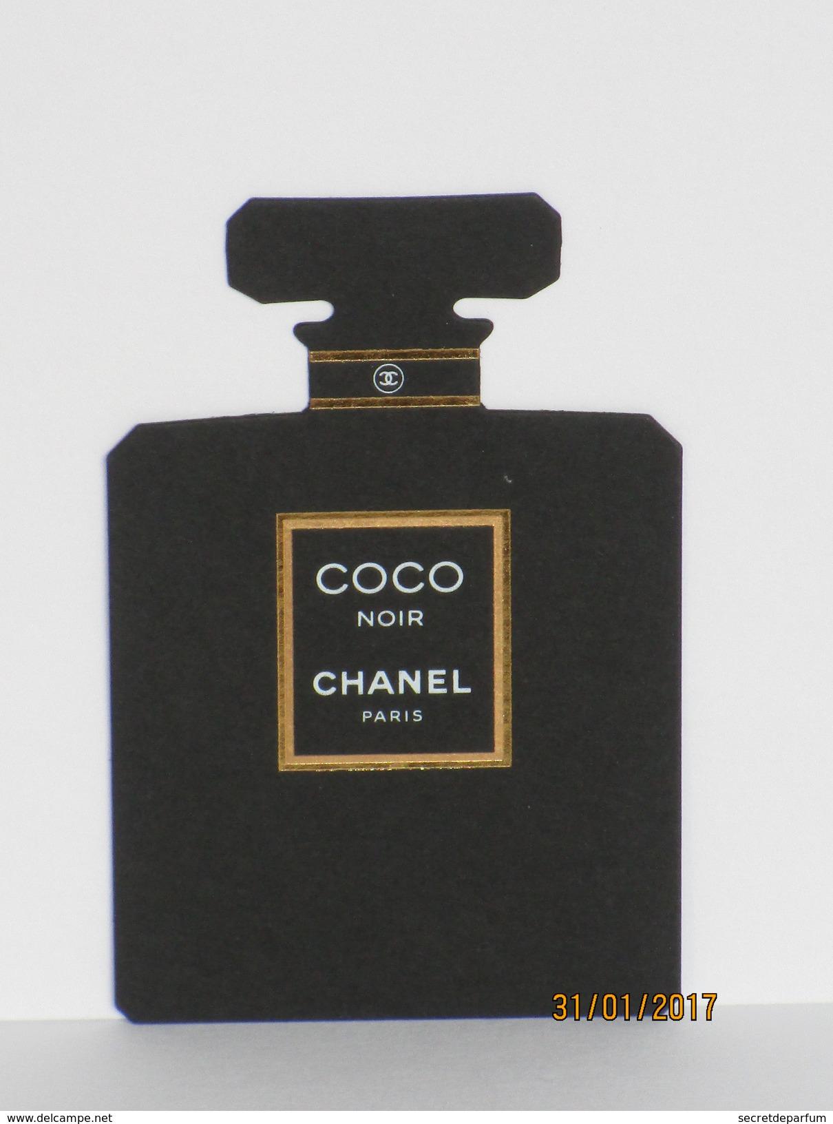 Cartes Parfumées Carte CHANEL COCO  NOIR  De CHANEL - Modernes (à Partir De 1961)