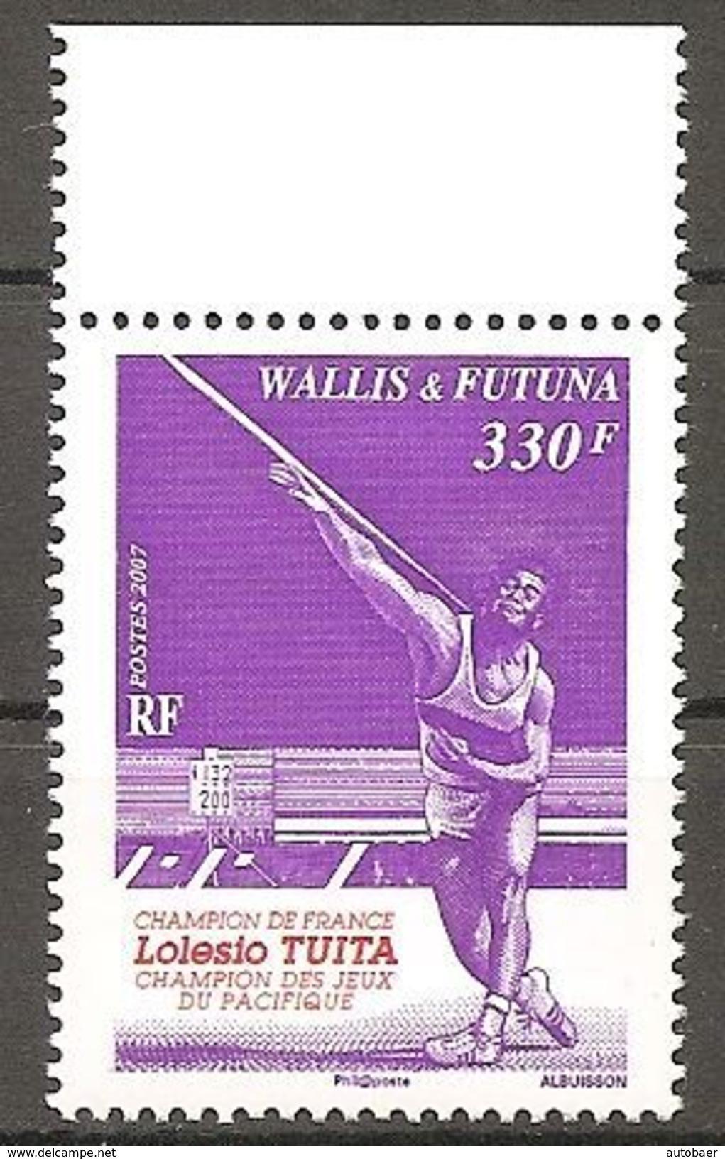 Wallis Und Et Futuna 2007 Lolesio Tuita Speerwerfer Michel No. 951 MNH Postfrisch Neuf - Wallis Und Futuna