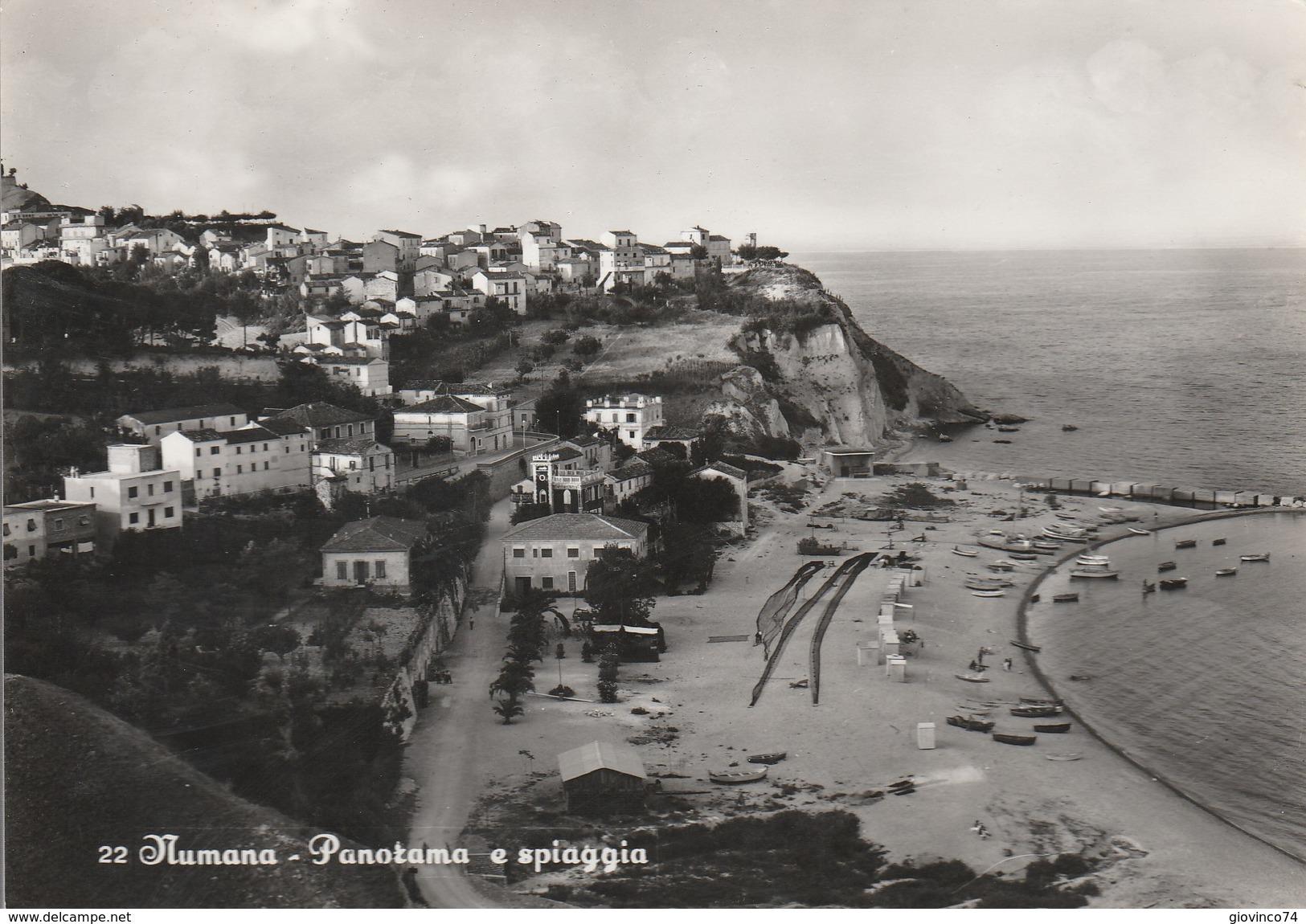 ANCONA - NUMANA - PANORAMA E SPIAGGIA.....CCC - Fano