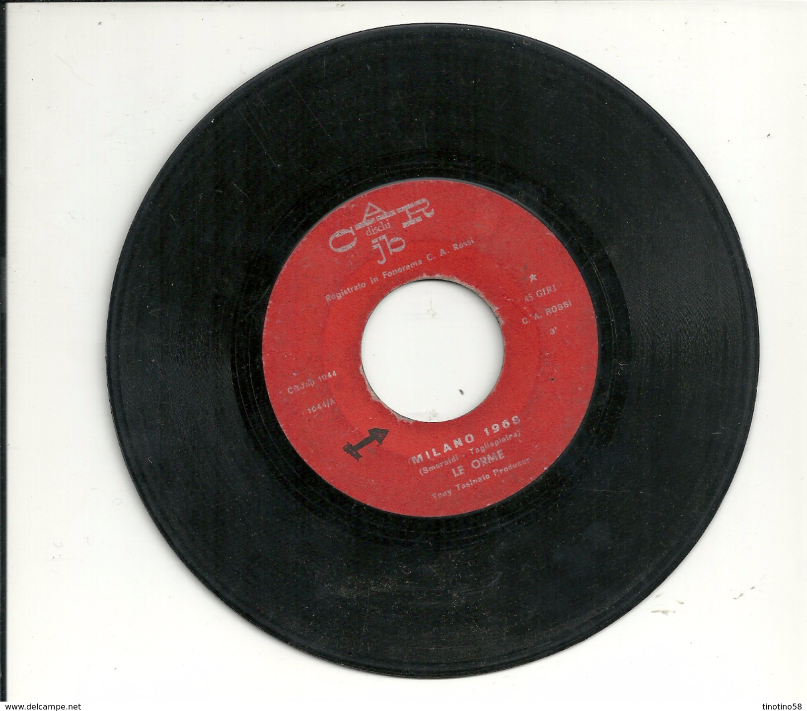 MILANO 1968   -- I MIEI SOGNI  --------------------------------LE ORME ---------------- 45  GIRI--DA JUBOX - Rock