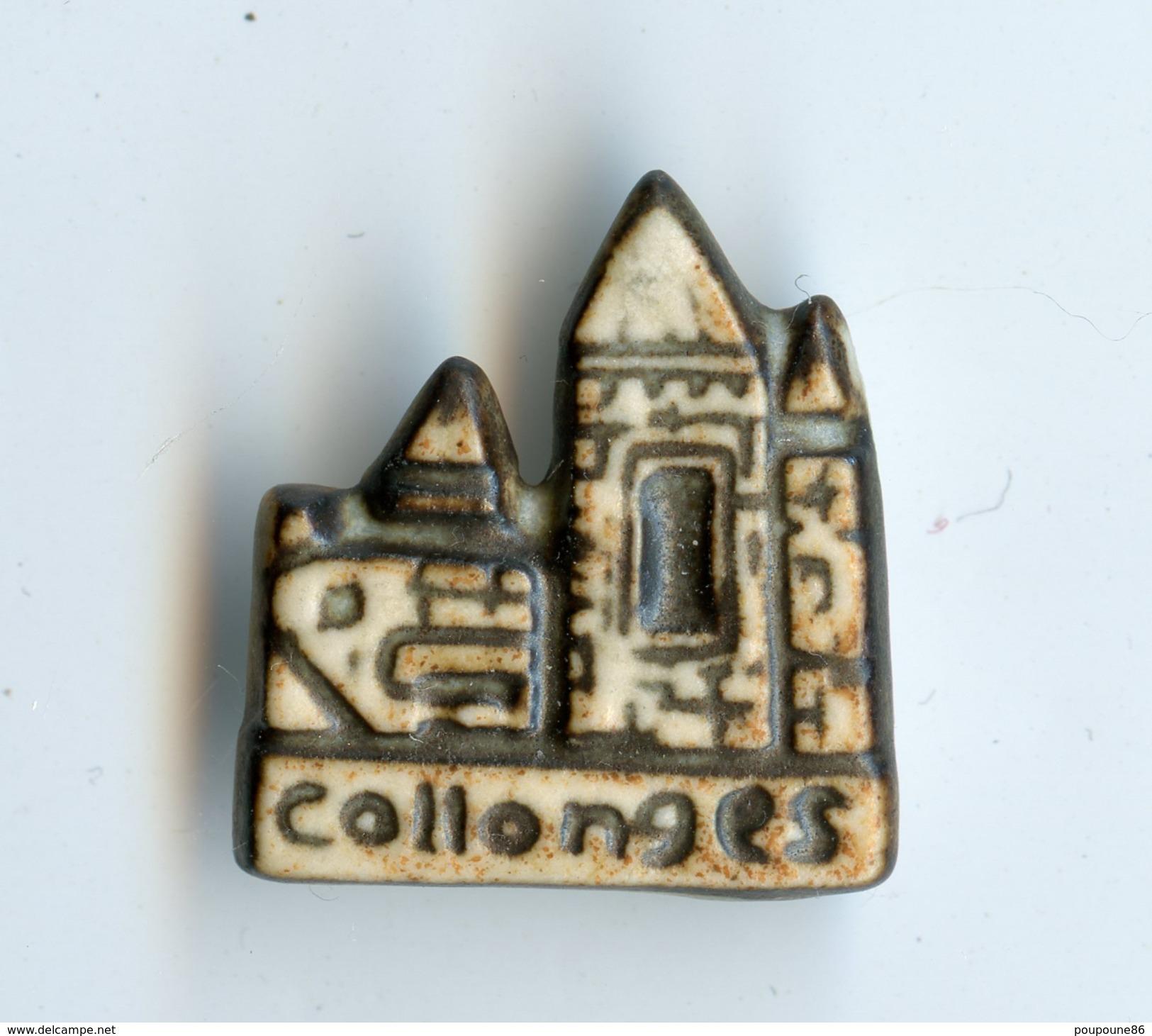 FEVE - FEVES - COLLONGES-LA-ROUGE, LA CITE AUX 25 TOURS - (19 Correze)  2 SCANS - Autres