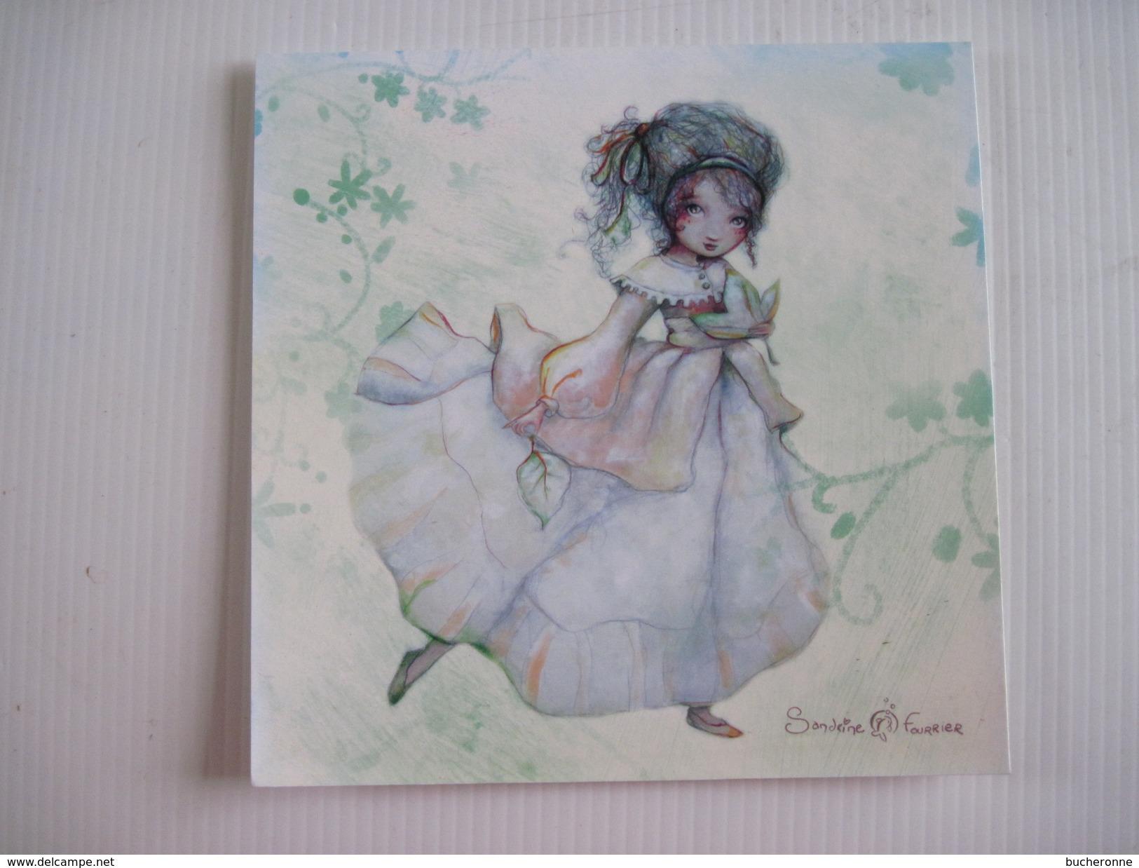 CPM Miss Automne Sandrine Fourrier T.B.E. 14 X 14 Cm - Illustratoren & Fotografen