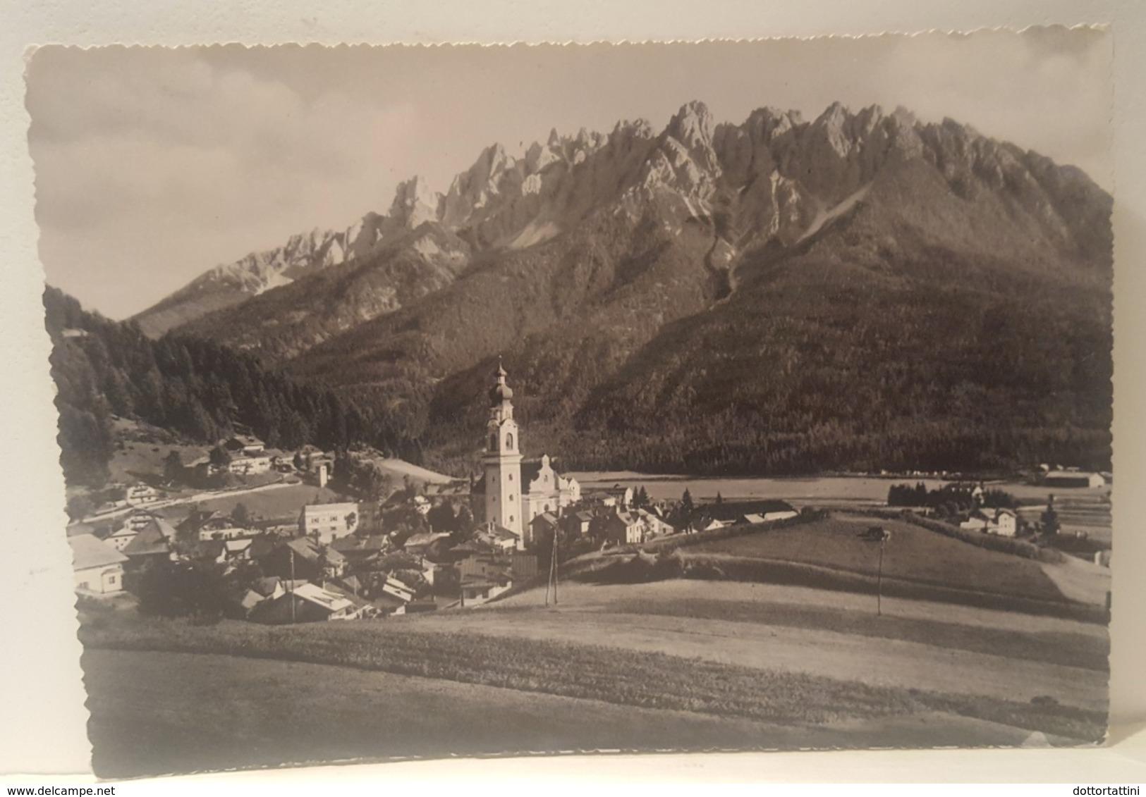 DOBBIACO - TOBLACH (Bolzano) - La Rocca Dei Baranci - Cima Nove - Dolomiti - Viaggiata 1953 - Bolzano