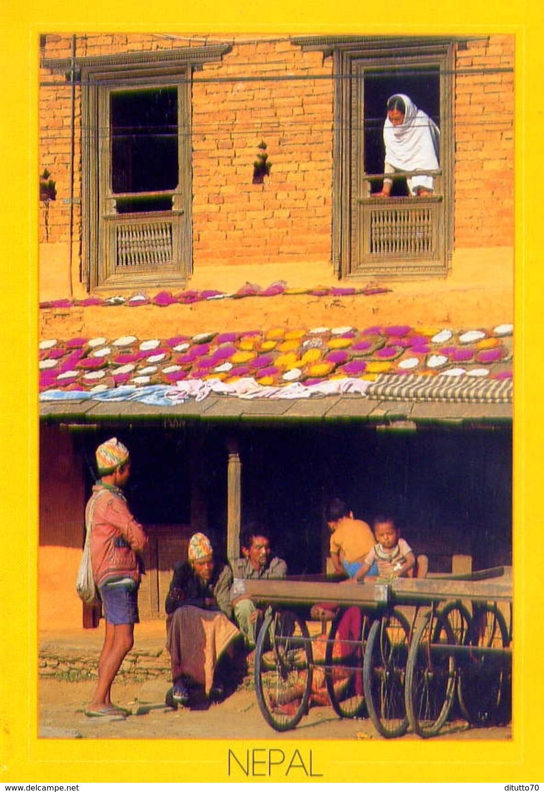 Nepal - Village - Formato Grande Viaggiata - E - Nepal