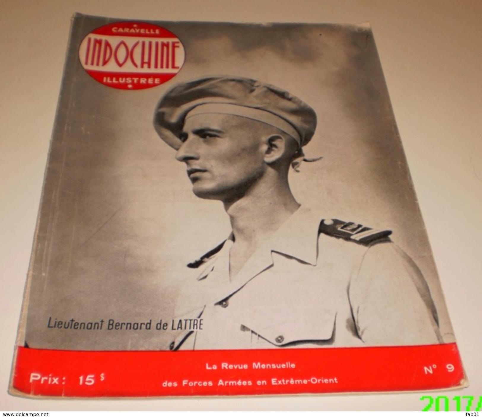 Revue Caravelle(Indochine) N°=9(De Lattre De Tassigny Fils) - 1950 à Nos Jours