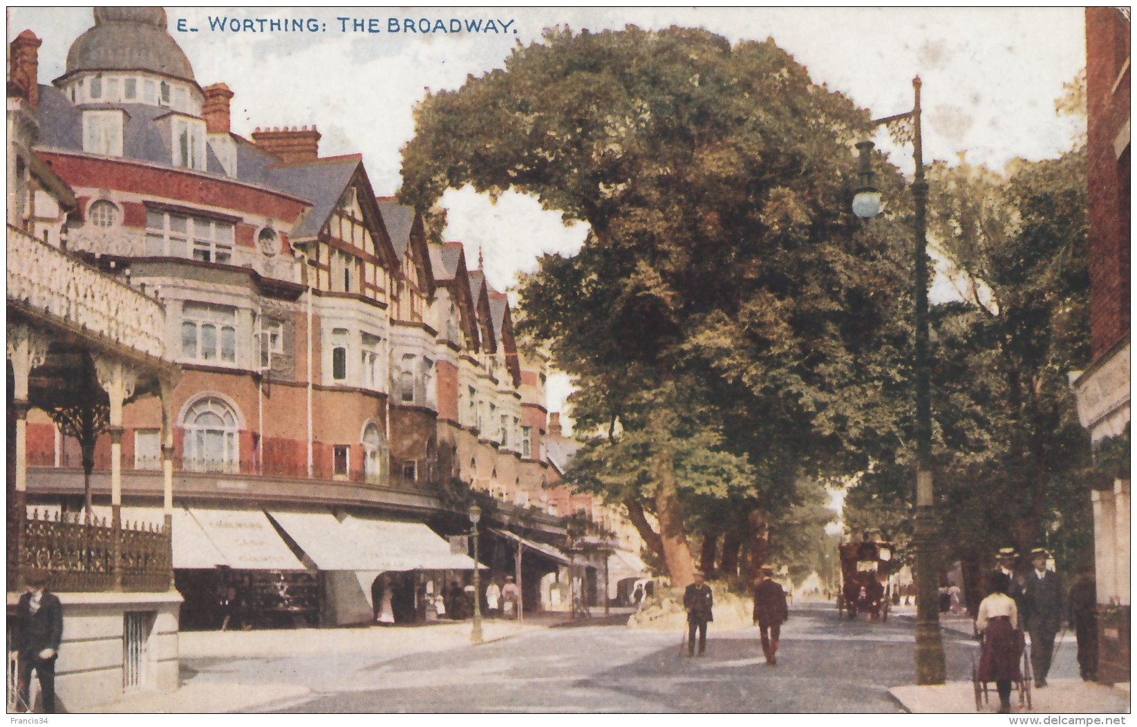 CPA - Worthing - The Broadway - Worthing