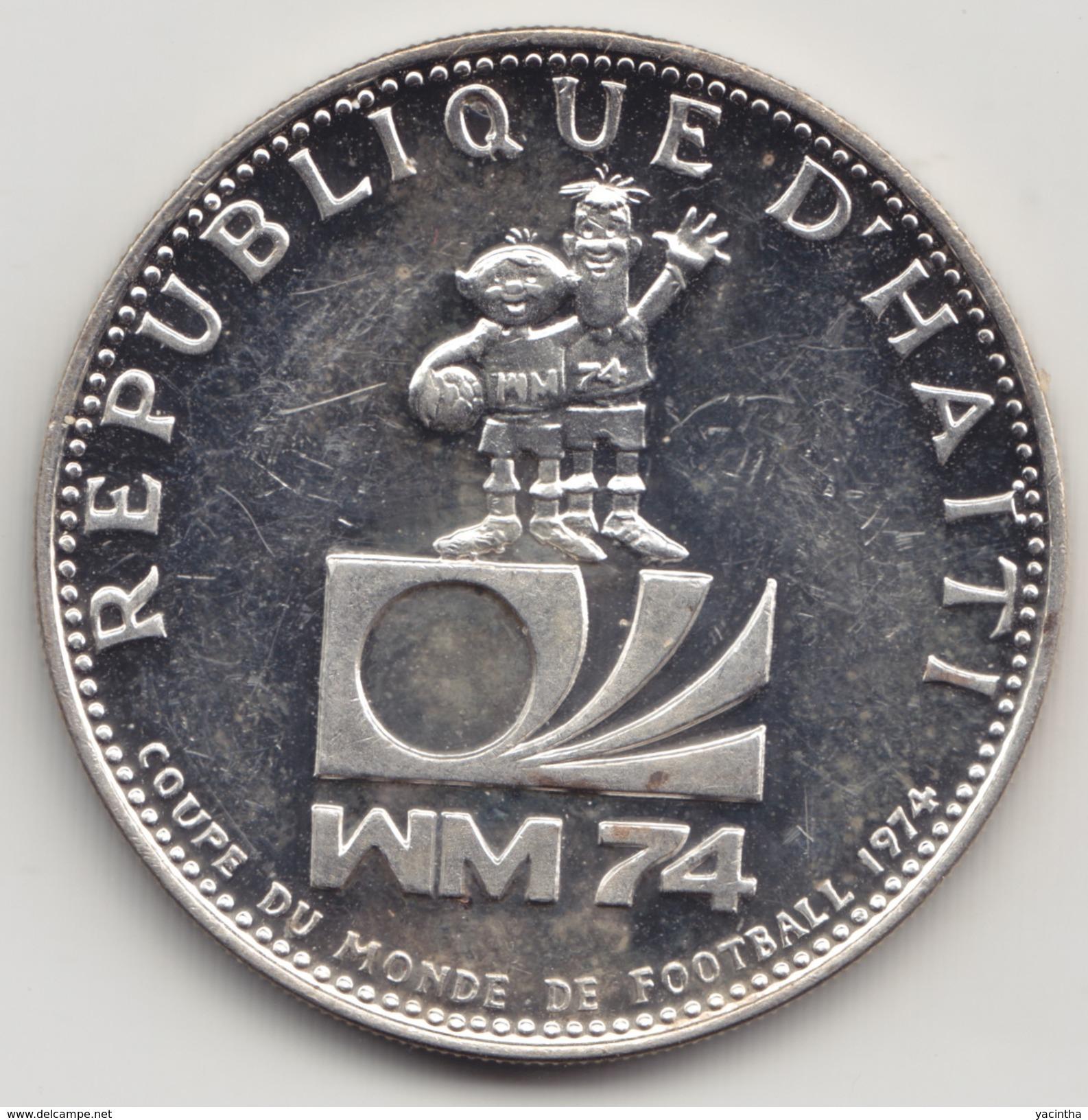 @Y@    Haiti  25 Gourdes  1973  ( 4561 ) - Haïti