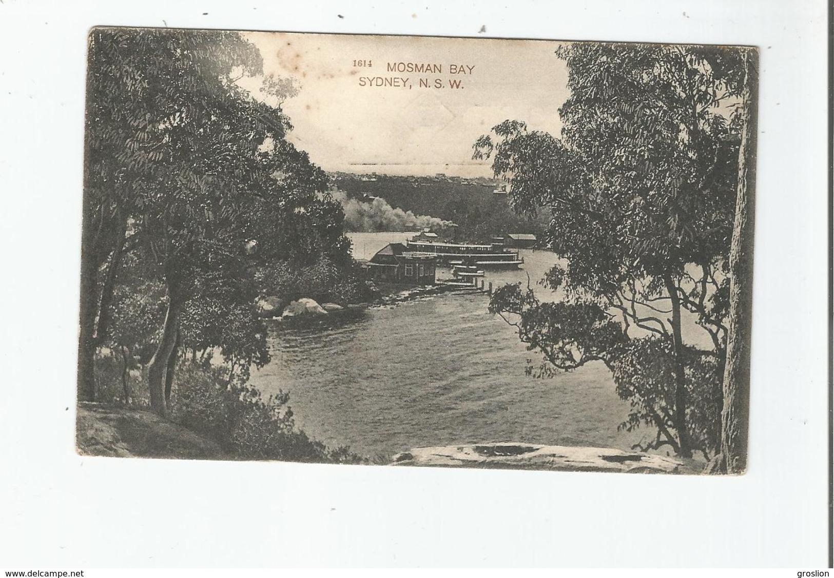 MOSMAN BAY 1614 SYDNEY N S W 1913 - Sydney