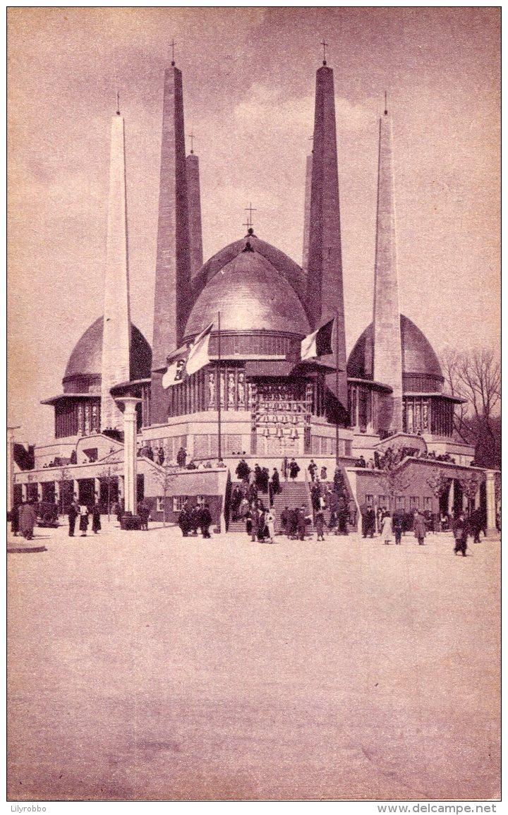 BELGIUM - Official Card De L'Exposition De Bruxelles 1935 - Pavillon Du De La Vie Catholique - Exposiciones