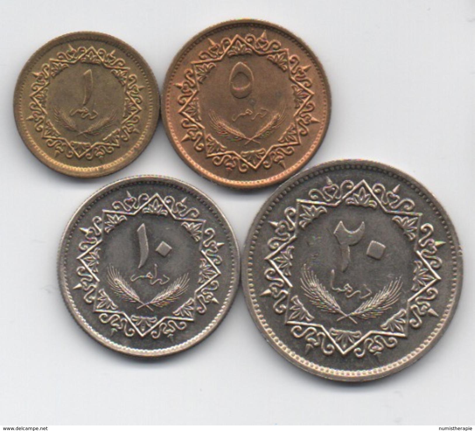Libye : Série De 4 Pièces 1975 - Libye