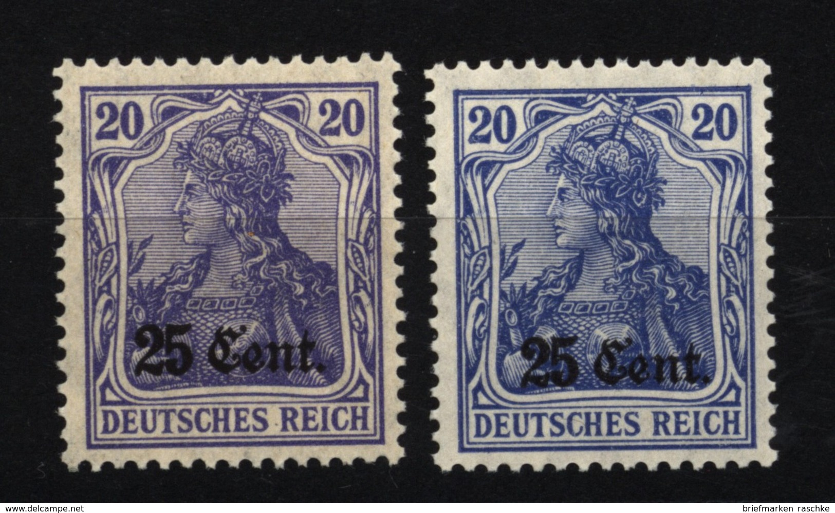 Etappe West,6b,c,xx - Besetzungen 1914-18