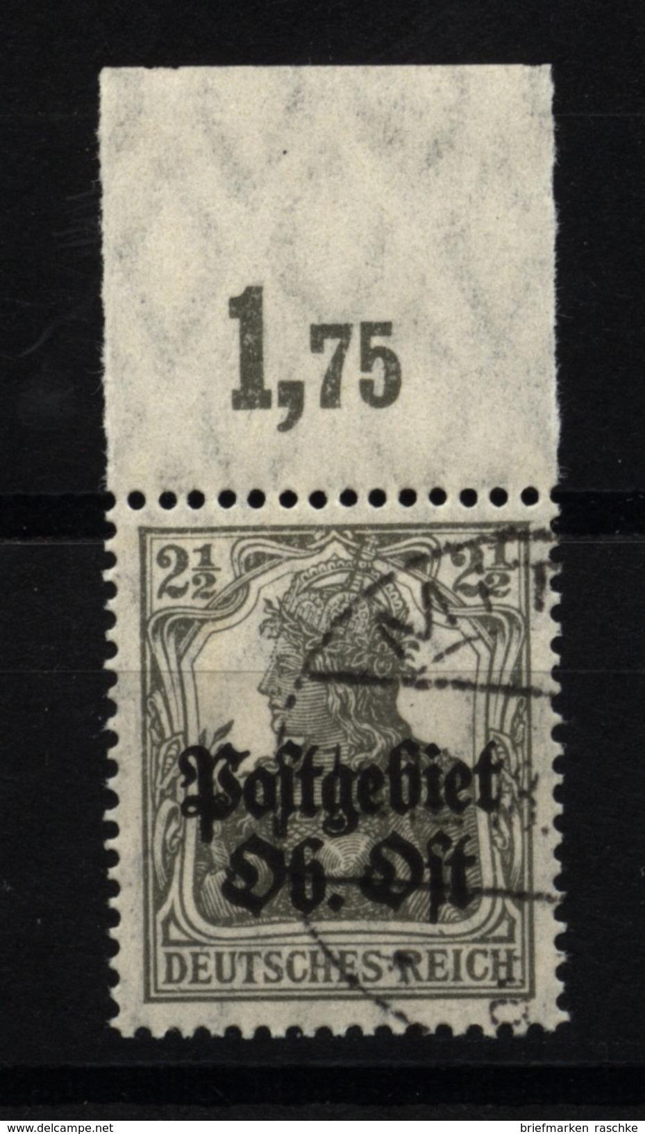 Ober-Ost,1b,OR P,o,gep. - Besetzungen 1914-18