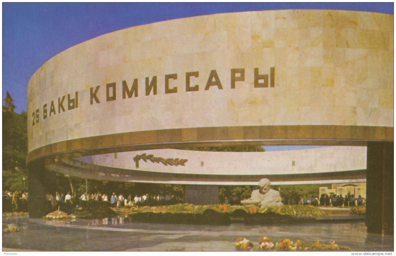CPA - Baku ( Bakou ) - Mausoleum Of 26 Baku Commissars - Azerbaïjan