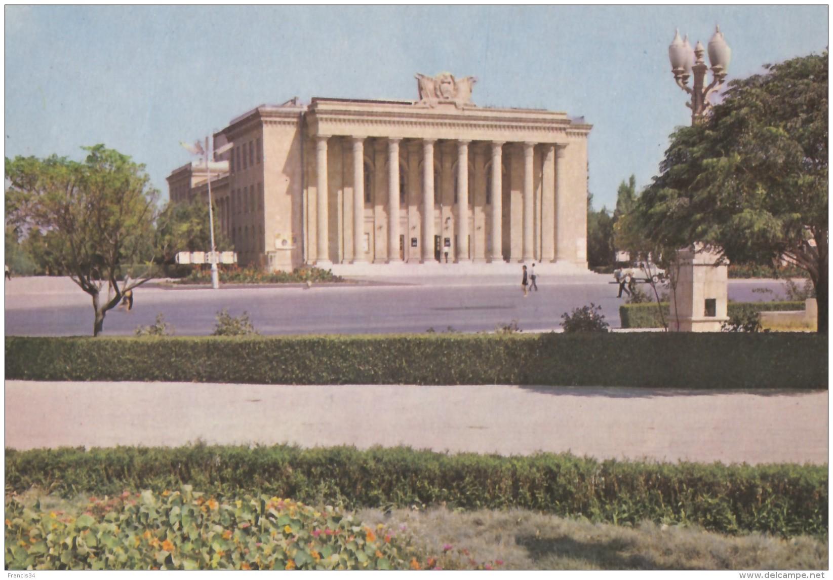 CPA -  Sumgait ( Sumgayit ) - Chemists' Palace Of Culture - Azerbaïjan