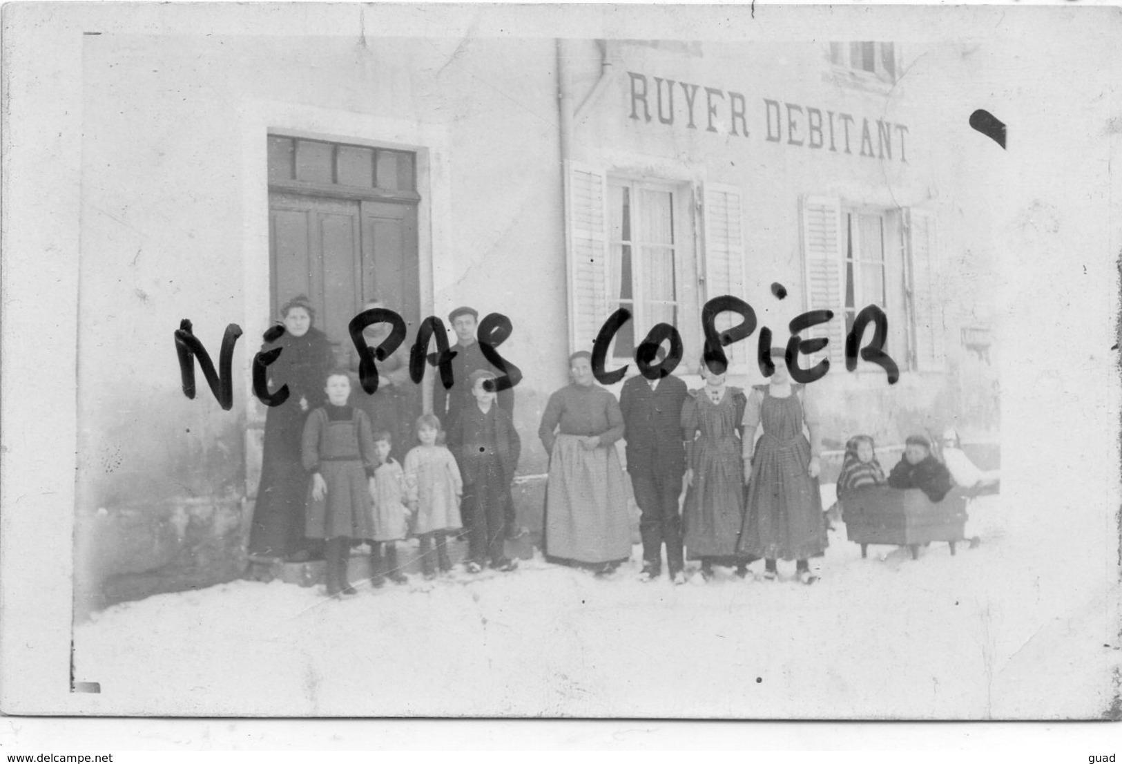 PLAINFAING - EPICERIE RUYER  - SUPERBE CARTE PHOTO - Plainfaing
