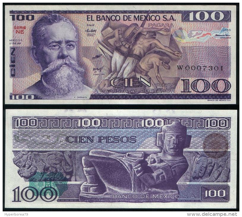 Mexico P 74 A - 100 Pesos 27.1.1981 - UNC - Mexico