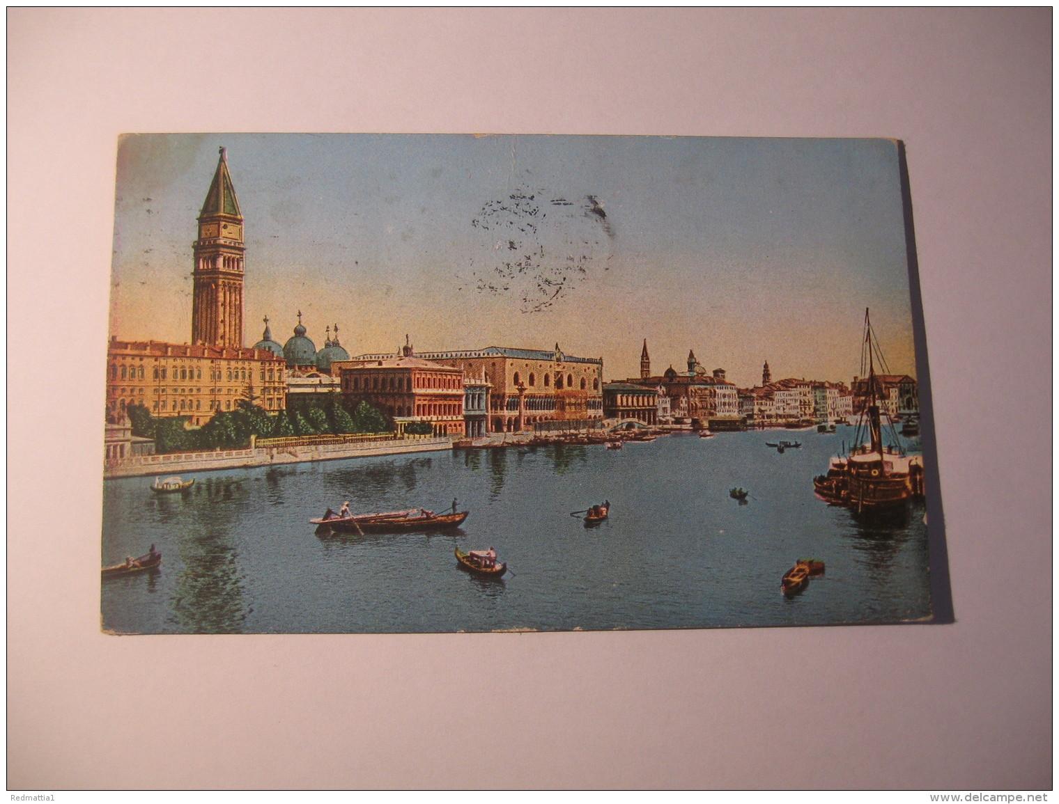 VENEZIA -  PANORAMA DALLA PUNTA DELLA DOGANA - Venezia