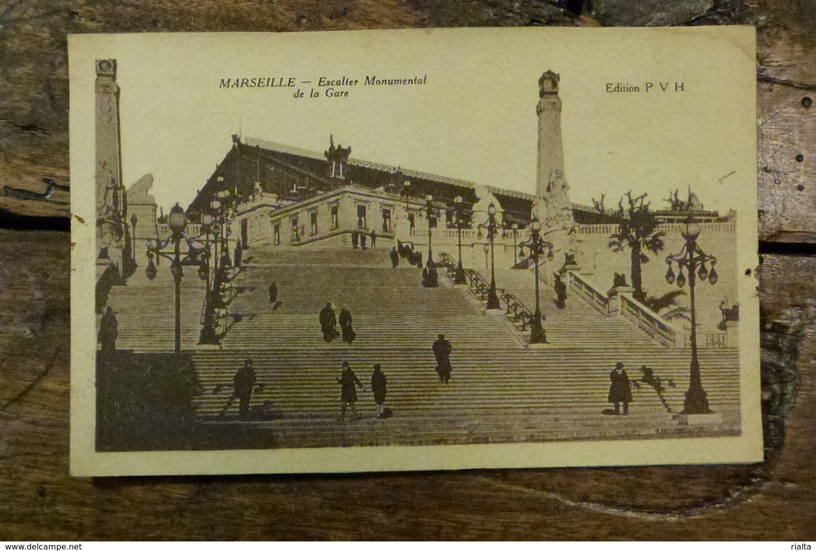 13, MARSEILLE, ESCALIER MONUMENTAL DE LA GARE - Station Area, Belle De Mai, Plombières