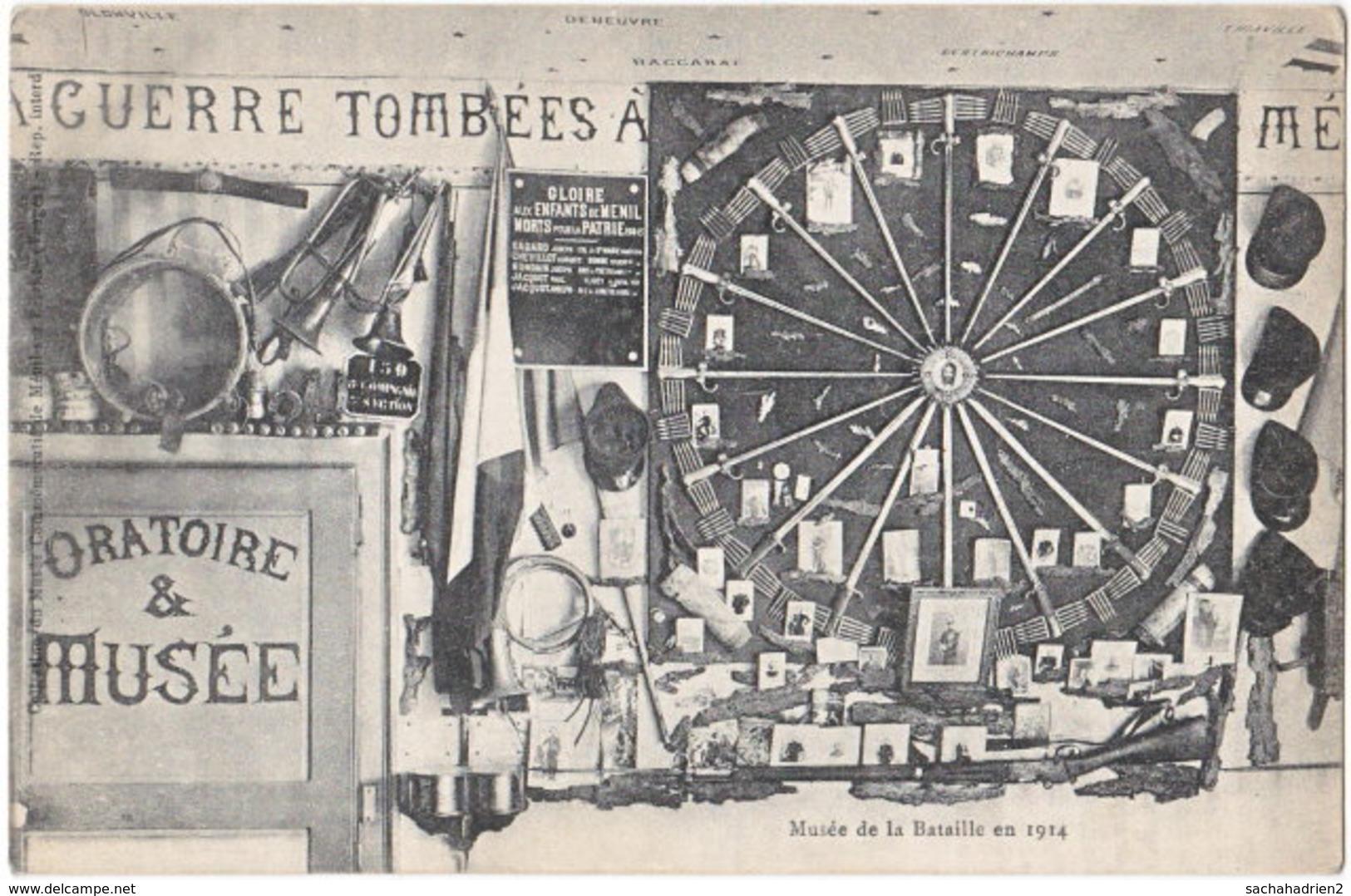88. MENIL-SUR-BELVITTE. Musée De La Bataille En 1914 - France
