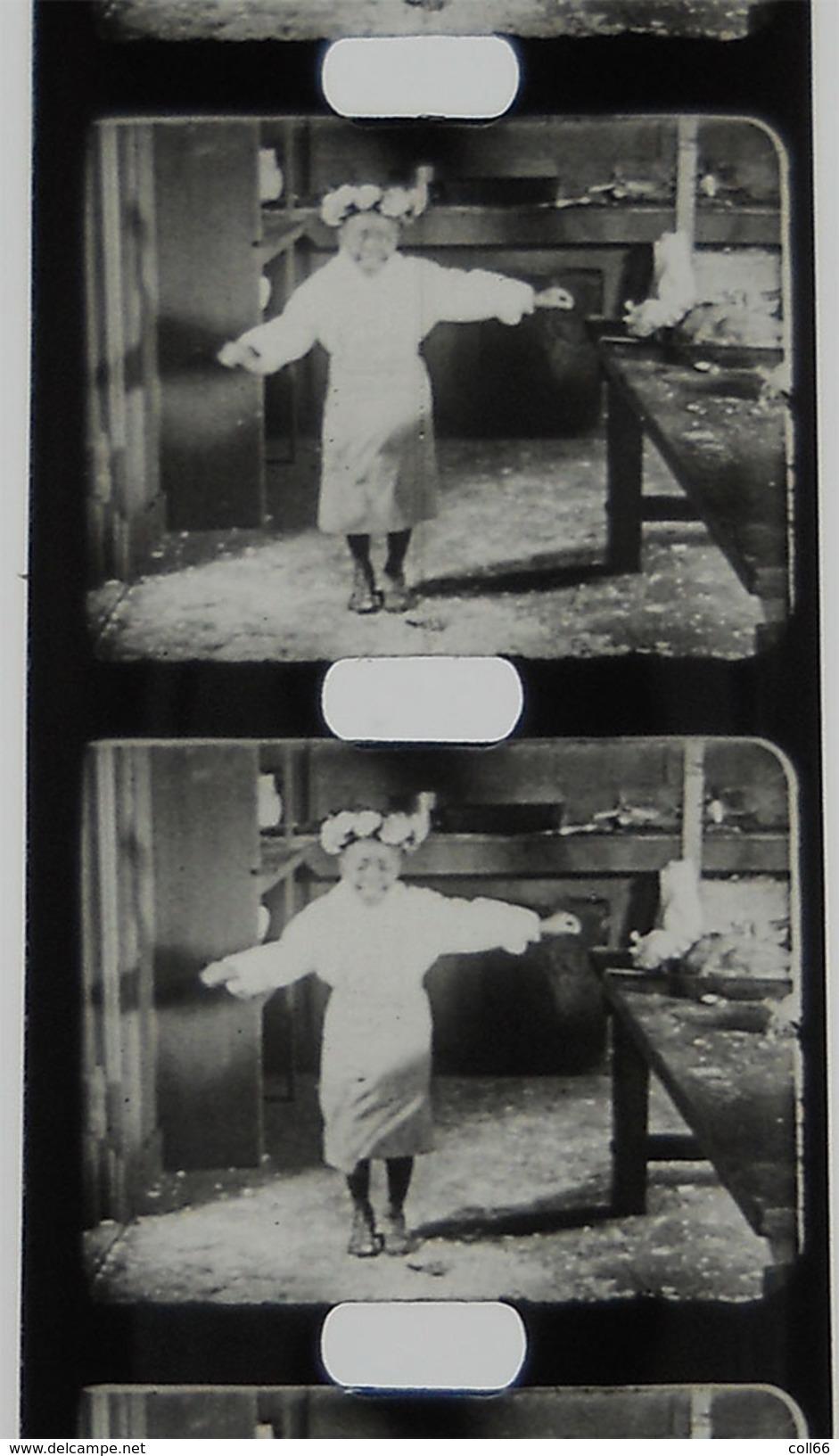 Pathé-Baby  Film 1910-1930  N°18 La Danseuse Et Le Negro Cuisinier Bon état Pas Courant!!! - Altre Collezioni