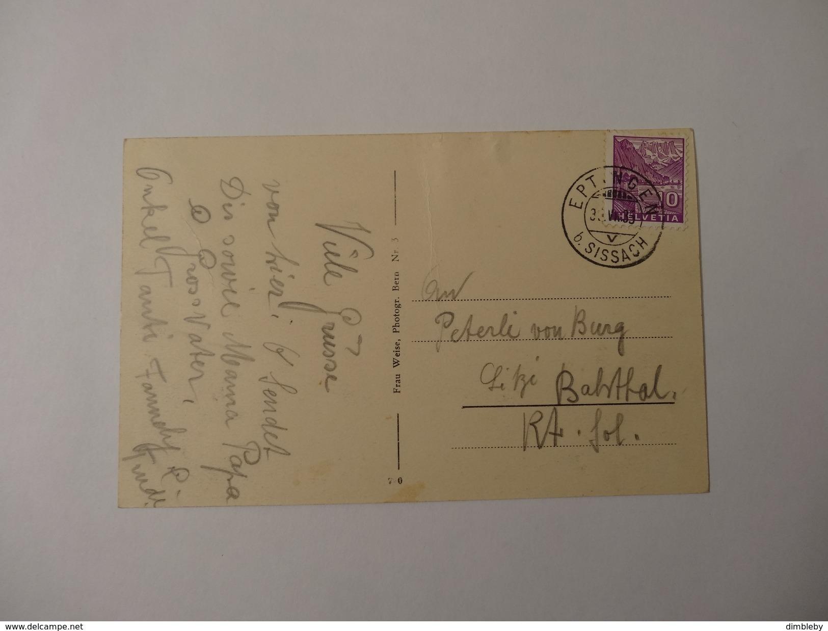 Wirtschaft Ober Bölchen  1935 (513) - BL Basle-Country