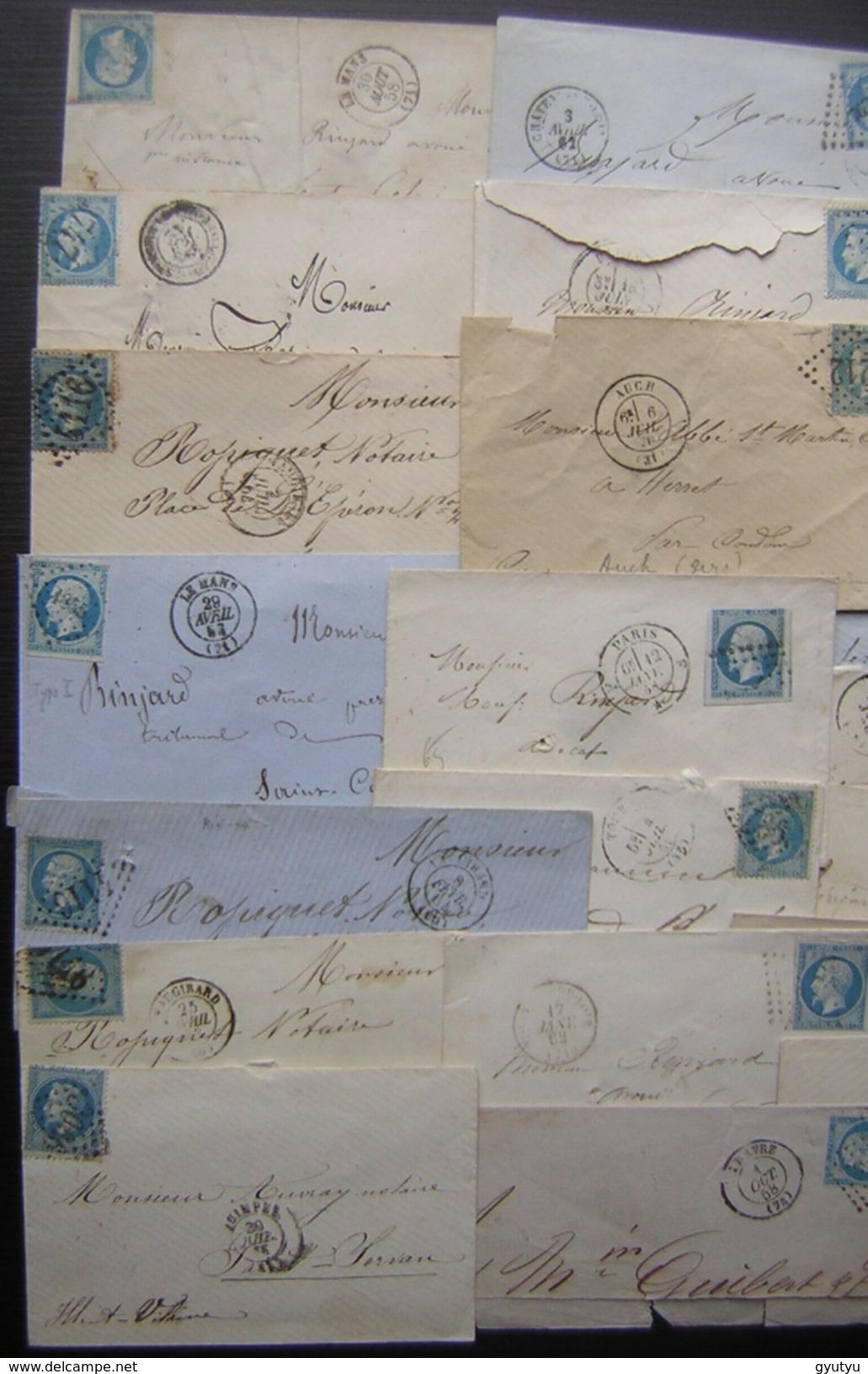 29 Lettres Classiques De France, Joli Lot Pour étude ! - Postmark Collection (Covers)