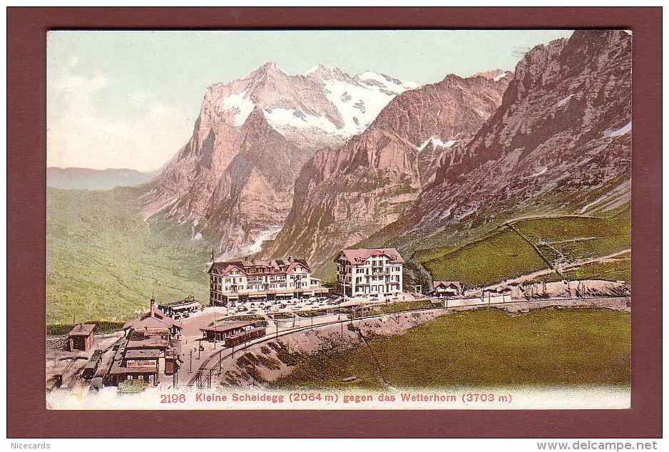 Kleine SCHEIDEGG Gegen Das Wetterhorn - Bahn - BE Berne