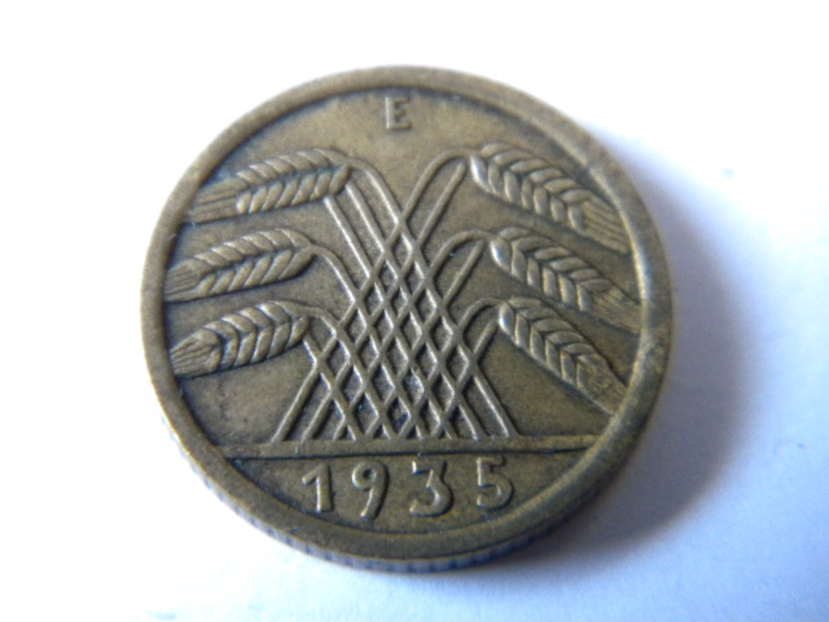 ALLEMAGNE -III REICH - 5 REICHSPFENNIG 1935.E. - [ 4] 1933-1945 : Third Reich