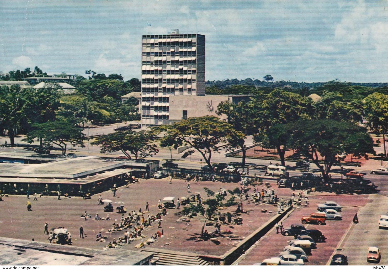 COTE D'IVOIRE----ABIDJAN---le Marché--voir 2 Scans - Côte-d'Ivoire