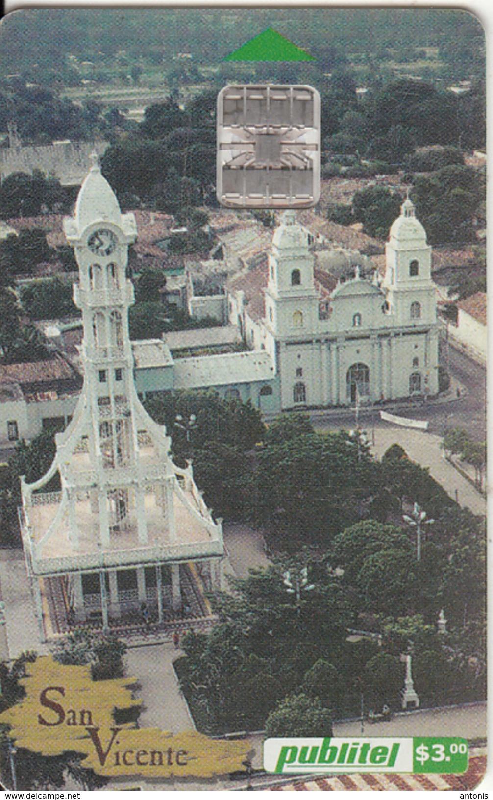 EL SALVADOR -  San Vicente, Chip SC7, Used - El Salvador