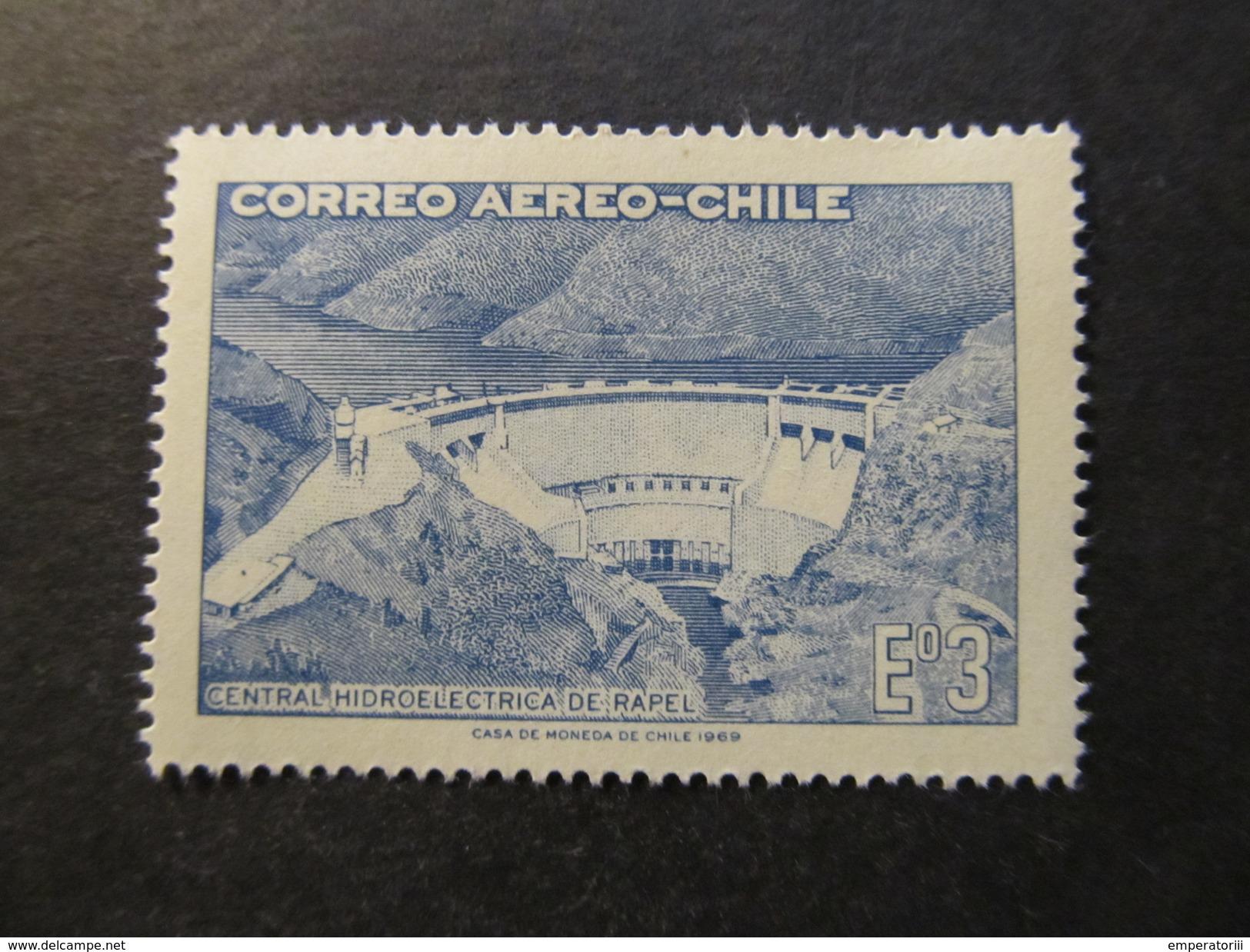 1969 - CHILE - RAPEL HIDROELECTRICT PLANT - SCOTT C292 A193 3E (1) - Chile