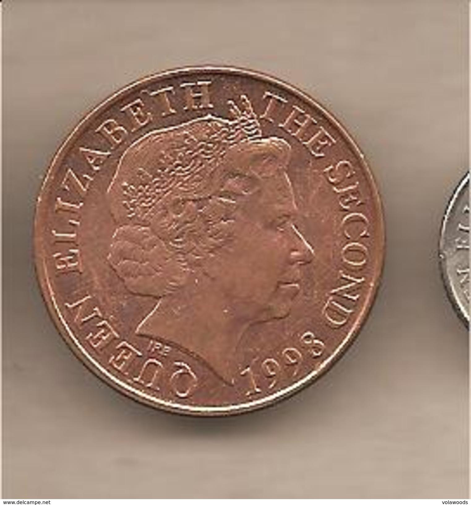 Jersey - Moneta Circolata Da 2 Pence - 1998 - Jersey