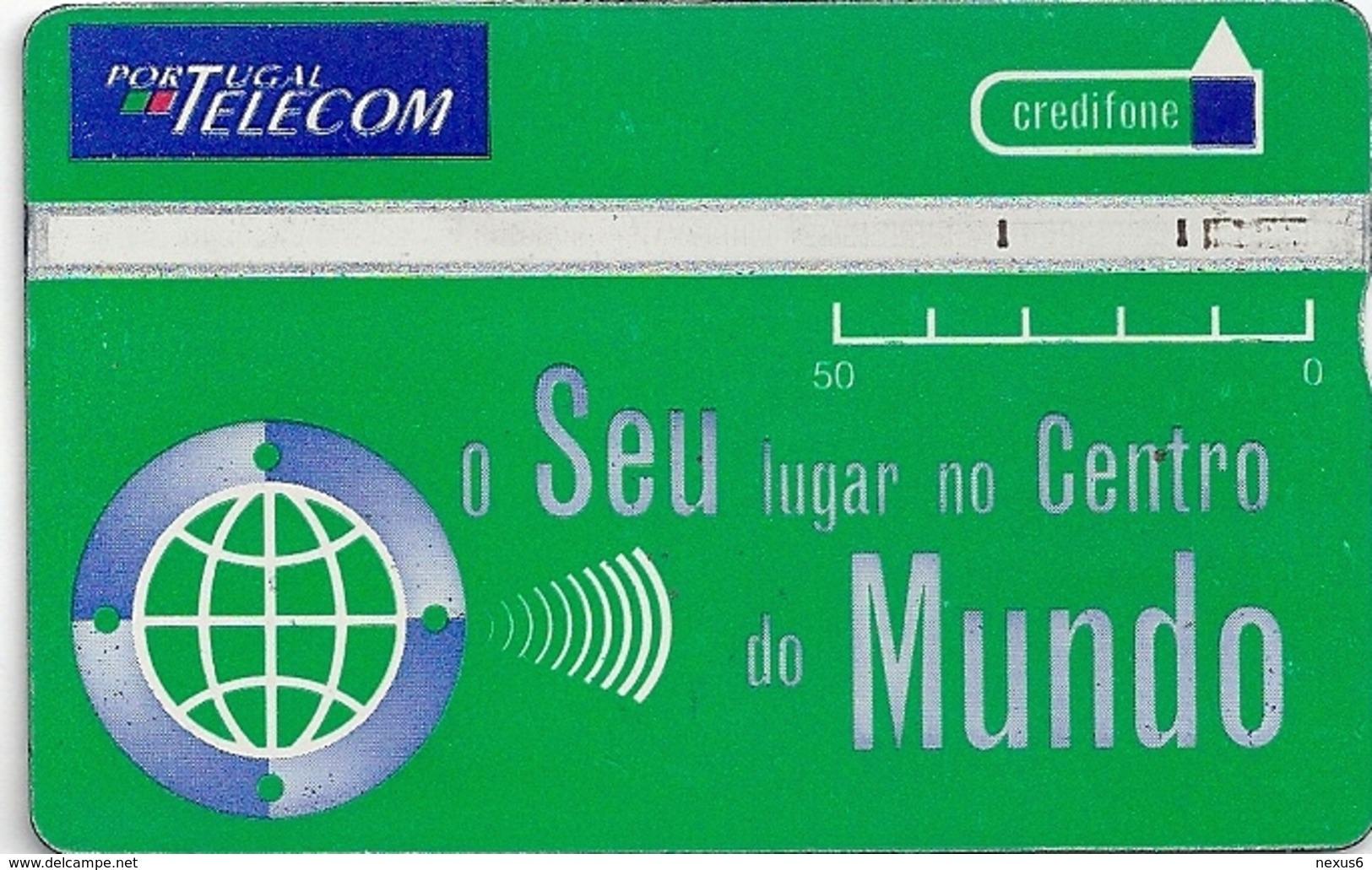 Portugal - TLP - Centro Do Mundo - L&G, 10.1989, 50U, 525G - 50.000ex, Used - Portugal