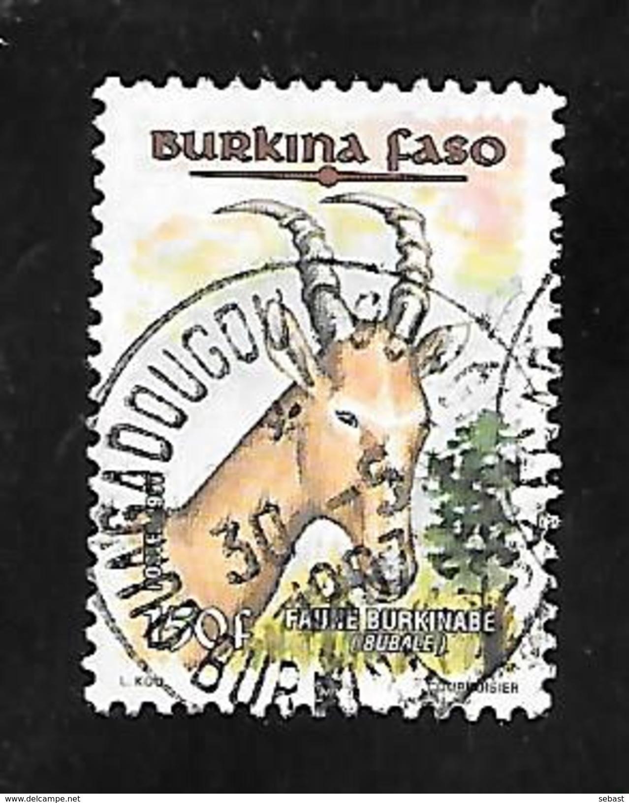 TIMBRE OBLITERE DBURKINA DE 1997  N° MICHEL 1451 - Burkina Faso (1984-...)