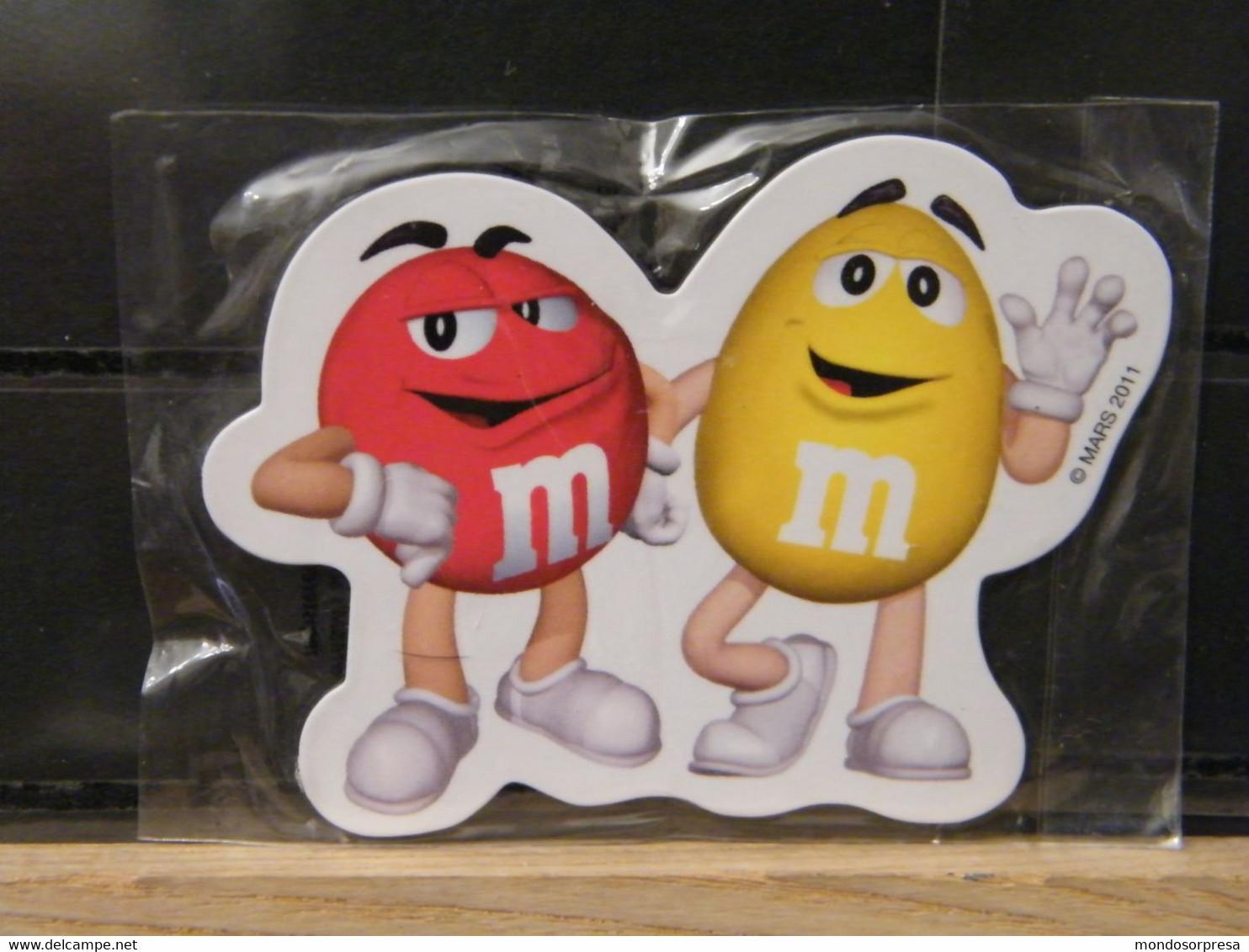 RARA CALAMITA DA FRIGO M&M'S  ORIGINALE MARS 2010 - Pubblicitari