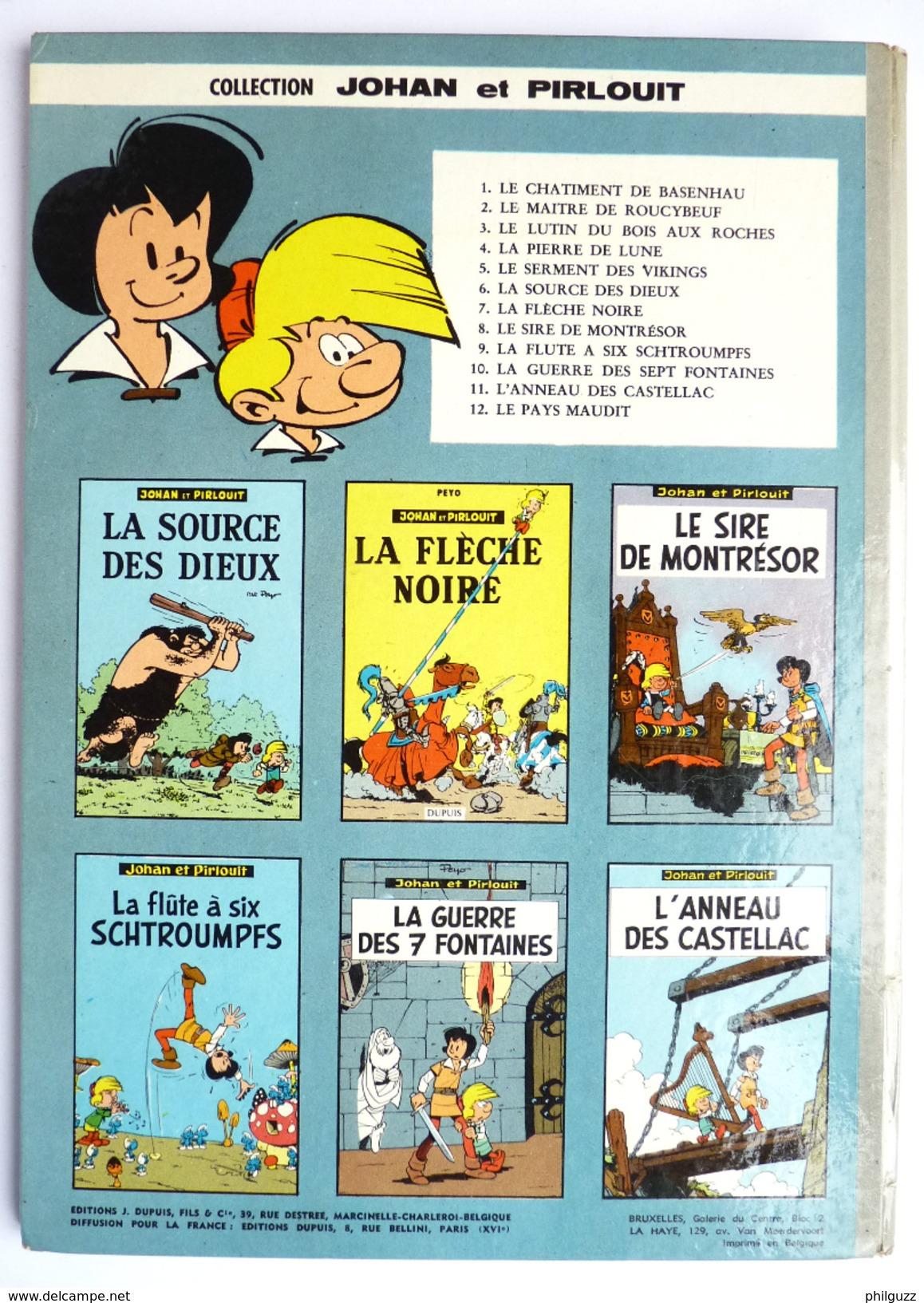 BANDE DESSINEE JOHAN & PIRLOUIT -  01/1965 - ABE+ - PEYO - L´ANNEAU DES CASTELLAC - T 11 - Johan Et Pirlouit