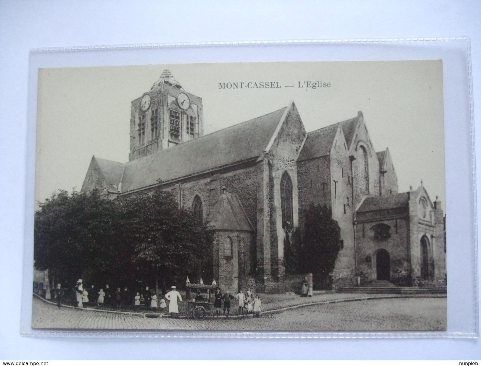 FRANCE - Cassel - Mont Cassel - L`Eglise - Cassel