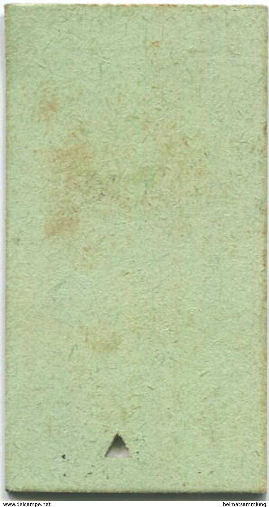 Schweiz - Beamtenbillet - Embrach-Rorbas Bülach - Fahrkarte 1. KL. 1959 - Schiffstickets