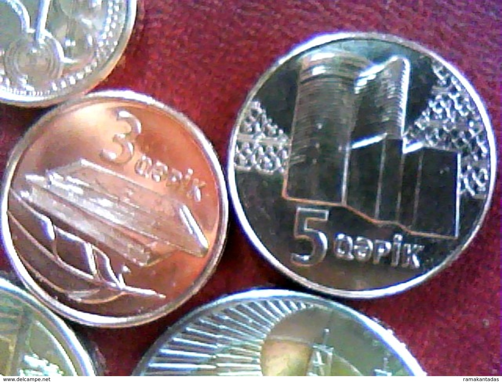 AZERBAIJAN 2005 * FULL SET OF COINS * UNC - Azerbaïjan