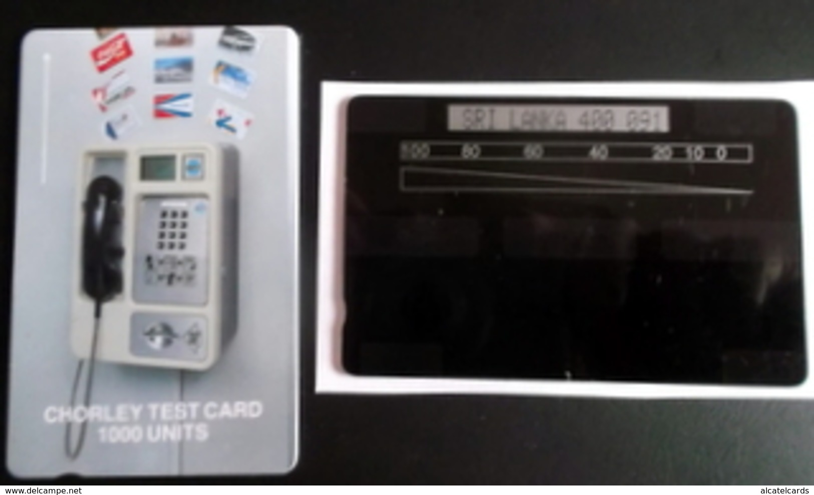 10 TEST CHORLEY - Phonecards