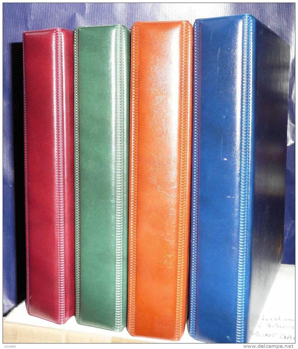 1 ALBUM POUR CLASSEMENT DES CPA- CPM- LETTRES- 20 FEUILLES INCLUSES : 4 COULEURS AU CHOIX- 6 SCANS - Supplies And Equipment